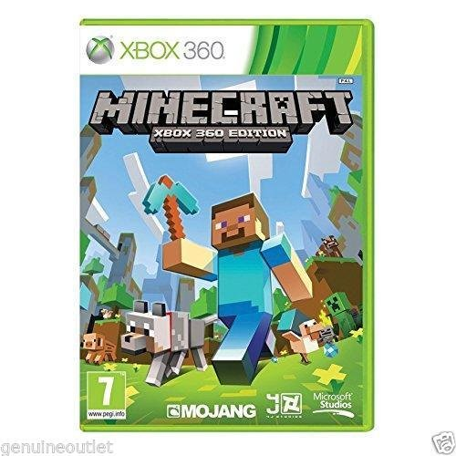 Minecraft: Xbox 360 Edition for Xbox 360 BRAND NEW FACTORY SEALED (Xbox 360 Brand New Games)