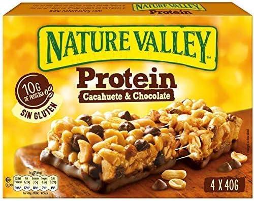 Nature Valley Protein Cacahuete y Chocolate Barritas de ...