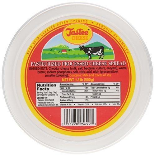 Jamaican Tastee Cheese, 17.6 oz (1.1 lb) by Tastee