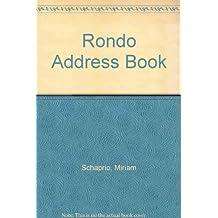 Miriam Schapiro: The Rondo Address Book