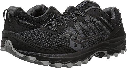 Saucony Men's Excursion TR12 Sneaker, Black, 8.5 M US