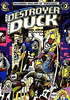 - Destroyer Duck (1982 series) #4