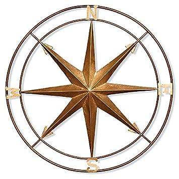 Amazon.com: Indoor Outdoor Copper Bronze Gold Nautical Metal 30 ...