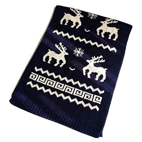 Lambswool Gloves Winter Snowflake - Pandaie Womens Scarves, Women Winter Imitation Cashmere Tassels Christmas Snowflakes Warm Scarves