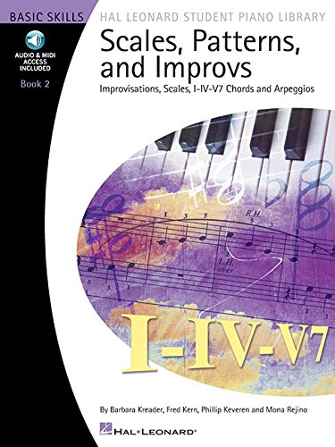 Scales Patterns And Improvs - Book 2 - Hal Leonard Student Piano Library