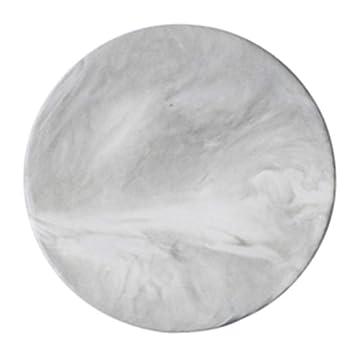 Hervorragend KJinZ Runde Platte, Dekorative Platte Haushaltsplatte Marmor Strukturierte  Platte Kuchenplatte Ei Torte Platte Pommes Frites