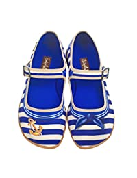 Hot Chocolate Design Chocolaticas Sailor Women's Mary Jane Flat