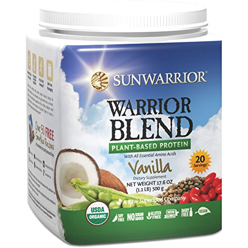 Sunwarrior Warrior Plant Based Protein Servings product image