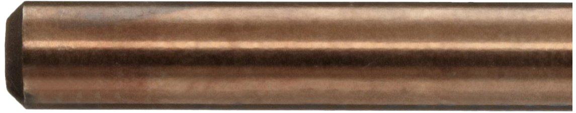 Straight Shank 135 Degree Parabolic Spiral 13//64 Diameter x 6 Length YG-1 DL6032 High Speed Steel Split Point Aircraft Extension Drill Bit Pack of 1 #6 Size