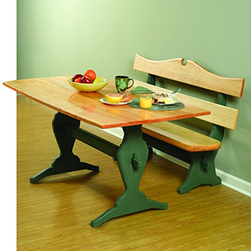 Trestle Table Plans - Woodworking Project Paper Plan to Build Trestle Table and Benches