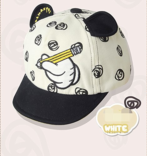 GZMM Infant Toddler Baby Baseball Cap Unisex Soft Brim Sun Hat ... 56ace641da14