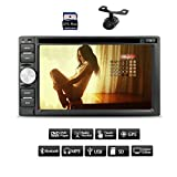 Best Navigation HDs - Free Camera+2 din Autoradio GPS Navigation Car DVD Review