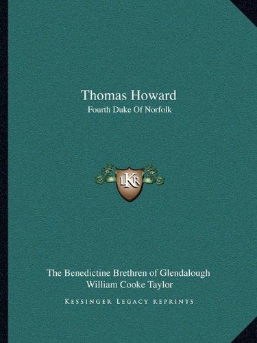 Thomas Howard: Fourth Duke Of Norfolk