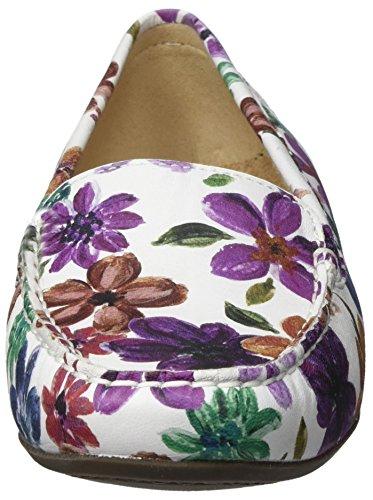 Sioux Vrouwen Zilly Mocassin, Veelkleurige (bloem)