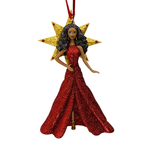 2017 Holiday African American Barbie Christmas Ornament by Hallmark