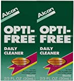 Opti-Free Daily Contact Lens Cleaner-0.676 oz, 2 pack by Opti-Free