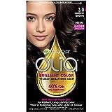 Garnier Olia Hair Color, 3.0 Darkest Brown, Ammonia Free Brown Hair Dye  (Packaging May Vary)