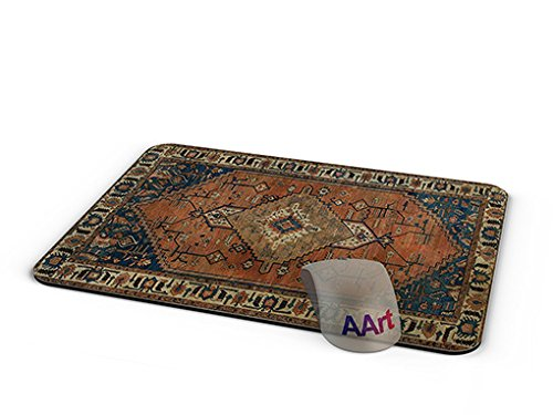 Price comparison product image AArt - Persian Rug Mouse Pad - Mouse pad / Persian Carpet Mouse Pad - (9.84 X 7.87 inches) ( 00012)
