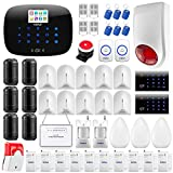 KERUI W193 Wireless 3G WIFI GSM PSTN RFID Card Touch Keypad Smart Home Security Burglar Alarm System Kit DIY Auto Dial, APP Remote Control KERUI