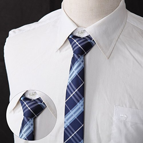 DANF0048 Various Colors Polyester Slim Ties Love Shopstyle Skinny Ties - 5 Styles Available Selection Accessories By Dan Smith by Dan Smith (Image #4)