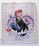 I Love Lucy Fashion Diva Woven Tote Bag