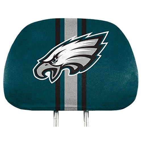NFL Philadelphia Eagles Full-Print Head Rest Covers, 2-Pack