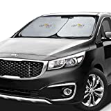 Large Car Sun Shade Jumbo size for minivan or SUV windshields. Highest Aussie quality. Shades your car windshield. Keeps car cooler by up to 50%. Flexible size for SUV, truck, car big or extra large.