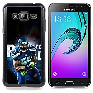SKCASE Center / Funda Carcasa protectora - 54 Jugador de la ;;;;;;;; - Samsung Galaxy J3 GSM-J300