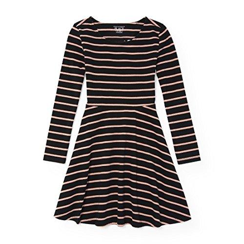 The Children's Place Little Girls' Sleeveless Dressy Dresses, Black 12 90737, S (5/6)