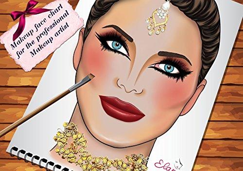Face Charts For Makeup Artists Bridal Makeup Book (Princess Makeup Tutorial)