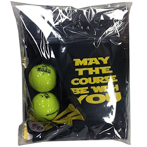 Giggle Golf May The Course Be With You Golf Pack With Flask
