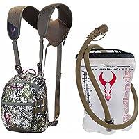 Badlands Optics Bino X Backpack-Friendly Binocular Harness - Approach w. 1L Interior Hydration Reservoir