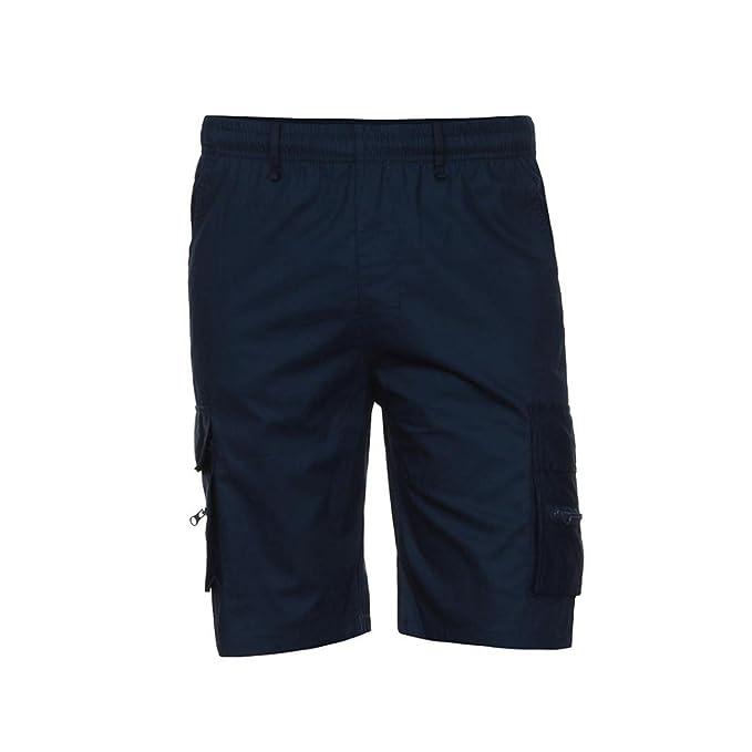 Yesmile Pantalones de Hombres Los Deportes del Trabajo Ocasional del Ejército del Cargo Pantalones Cortos Cintura