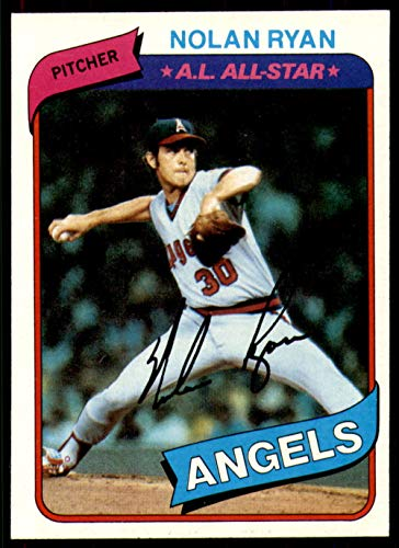 - 1980 Topps #580 Nolan Ryan Ex-Mint Angels