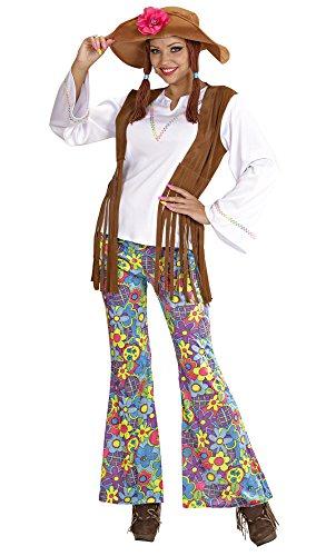 Ladies Woodstock Hippie Woman Costume Extra Large Uk 18-20 For 60s 70s Hippy -