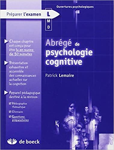 Abrégé de psychologie cognitive pdf, epub ebook