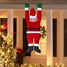 Holiday Time Christmas Décoration Santa Hanging Home Décor Outdoor Xmas Gift Indoor Decor