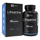 Suntheanine L-Theanine 200mg Double-Strength in Cold-Pressed Organic Coconut Oil Non-GMO amp Gluten Free - 60 Liquid Softgel Made in USA Discount