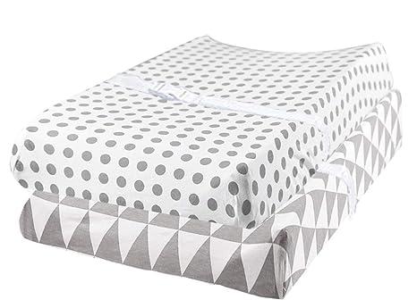 Amazon.com: 100% algodón orgánico pañal cambiador para bebé ...