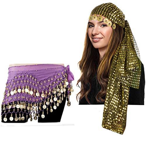 Tigerdoe Gypsy Costume Women - Gypsy Headpiece