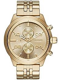 Men's DZ4441 Padlock Gold Watch