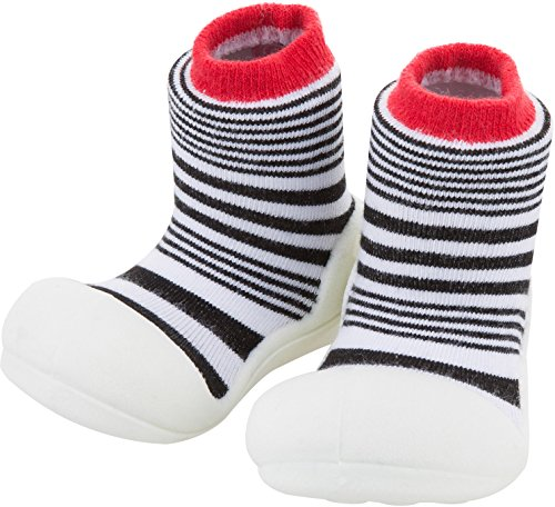Price comparison product image Attipas Baby First Walker Shoes (Large, Urban Red)