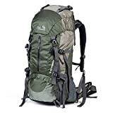 Hiking Pack Bag Camping Backpacks Nylon 50L (45+5L)
