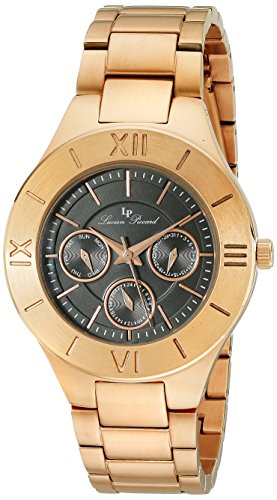 Lucien Piccard Women's LP-10051-RG-11 Livia Analog Display Japanese Quartz Rose Gold Watch