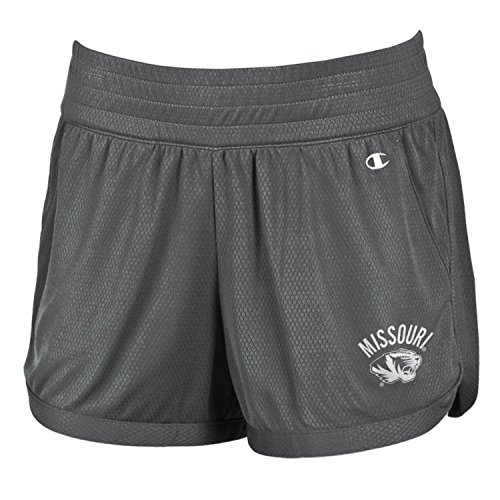 Champion NCAA Missouri Tigers Women's Endurance Shorts, X-Large, ()