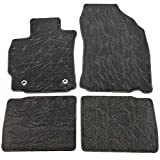 Scion tC All-Weather Mats - QianBao Front & Rear Nylon Water Ripple 4PC Car Floor Carpets Liner Floor Mat Fits Scion TC 2011 2012 2013
