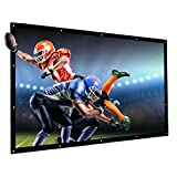 300 Inches16:9 Projector Screen Large Outdoor Portable Movies Screen Canvas Material Folded Easy to Carry