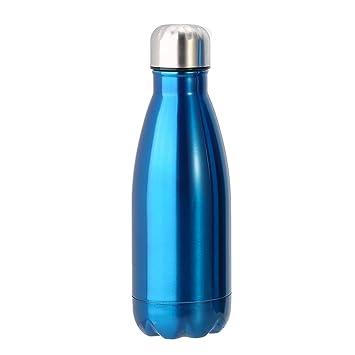 Garsent Botella de Agua 350/500/1000ML Acero Inoxidable ...