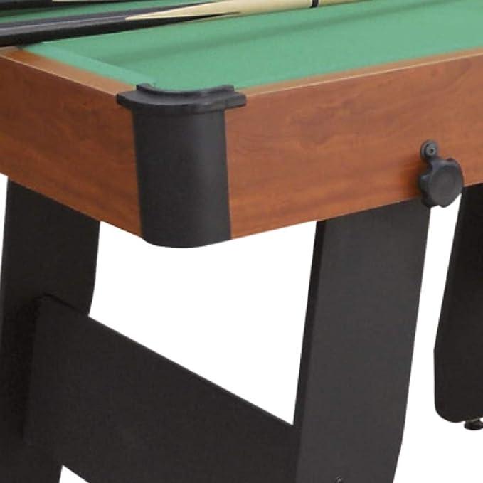 Devessport - Mesa de Billar plegable 152-Fácil montaje - Incluye ...