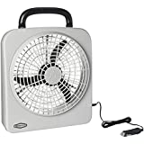 RoadPro RP8000 10 Indoor/Outdoor Dual Power Fan